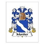 Mortier Family Crest  Small Poster
