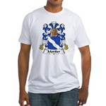 Mortier Family Crest  Fitted T-Shirt