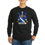 Mortier Family Crest Long Sleeve Dark T-Shirt