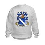 Mortier Family Crest  Kids Sweatshirt