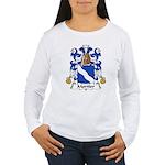 Mortier Family Crest  Women's Long Sleeve T-Shirt
