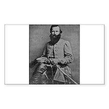 Jeb Stuart (C) Rectangle Decal
