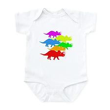 Triceratops Family Infant Bodysuit