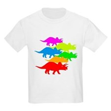 Triceratops Family T-Shirt