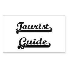 Tourist Guide Artistic Job Design Decal