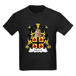 Moret Family Crest Kids Dark T-Shirt