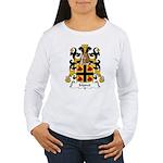 Moret Family Crest Women's Long Sleeve T-Shirt