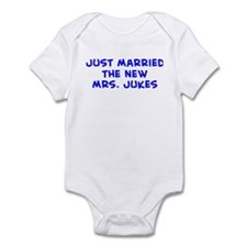Just Married the new Mrs.  Infant Bodysuit