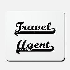 Travel Agent Artistic Job Design Mousepad
