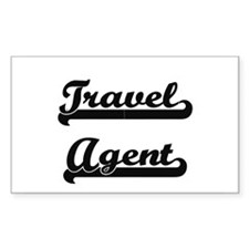 Travel Agent Artistic Job Design Decal