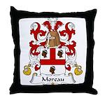 Moreau Family Crest Throw Pillow