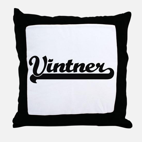 Vintner Artistic Job Design Throw Pillow