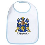 Montaigne Family Crest Bib