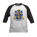 Montaigne Family Crest Kids Baseball Jersey