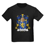 Montaigne Family Crest Kids Dark T-Shirt