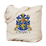Montaigne Family Crest Tote Bag