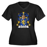 Montaigne Family Crest Women's Plus Size V-Neck Da