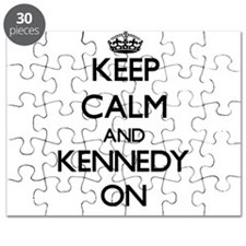 Keep Calm and Kennedy ON Puzzle