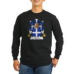Monin Family Crest Long Sleeve Dark T-Shirt