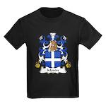 Monin Family Crest Kids Dark T-Shirt