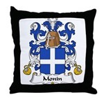 Monin Family Crest Throw Pillow
