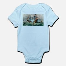 Battle Ships At War Painting Body Suit