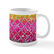 Glitter Pink Snakeskin Mugs