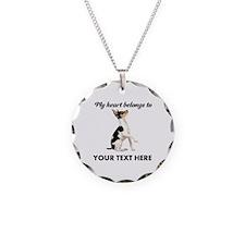 Custom Toy Fox Terrier Necklace
