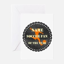 Funny Football Soccer Greeting Cards (Pk of 20)