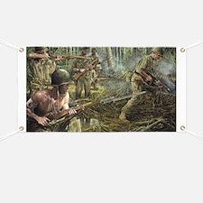 Vietnam War Painting Banner