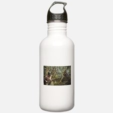 Vietnam War Painting Water Bottle