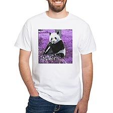 Funky lilac Panda T-Shirt