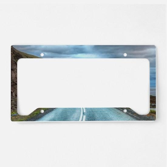 Life & Travel License Plate Holder