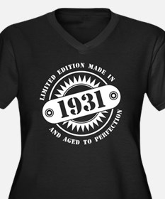 LIMITED EDITION MADE IN 1931 Plus Size T-Shirt