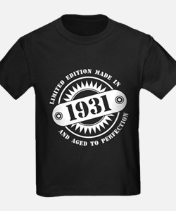 LIMITED EDITION MADE IN 1931 T-Shirt