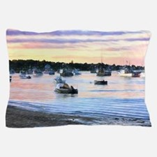 Lobster Boats At Twilight In Cape Cod Pillow Case