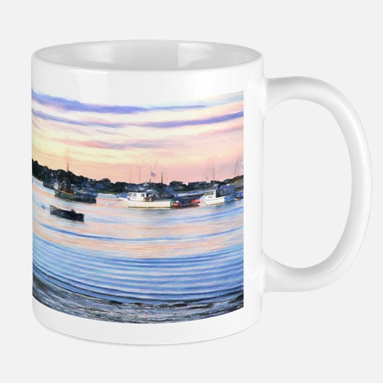 Lobster Boats At Twilight In Cape Cod Mugs
