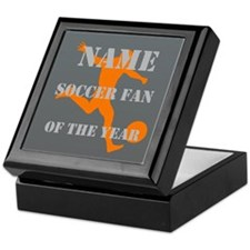 Personalized Soccer Football Fan Of the Year Keeps