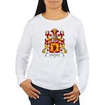 Michelet Family Crest Women's Long Sleeve T-Shirt