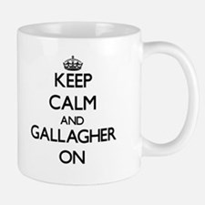 Keep Calm and Gallagher ON Mugs