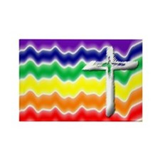 Unique Religion Rectangle Magnet (10 pack)