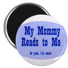 """Cute Reading 2.25"""" Magnet (10 pack)"""