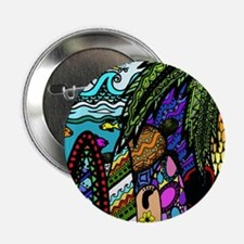 "Hawaiian Ink- Colour 2.25"" Button (10 pack)"
