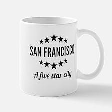 San Francisco A Five Star City Mugs