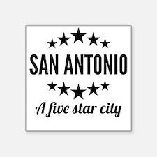 San Antonio A Five Star City Sticker