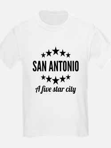 San Antonio A Five Star City T-Shirt