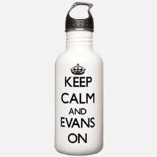 Keep Calm and Evans ON Water Bottle