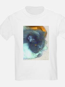Blue Persian Cat T-Shirt