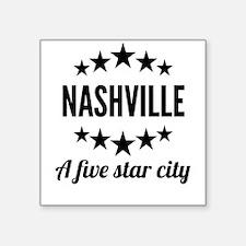 Nashville A Five Star City Sticker
