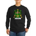 Mathis Family Crest Long Sleeve Dark T-Shirt